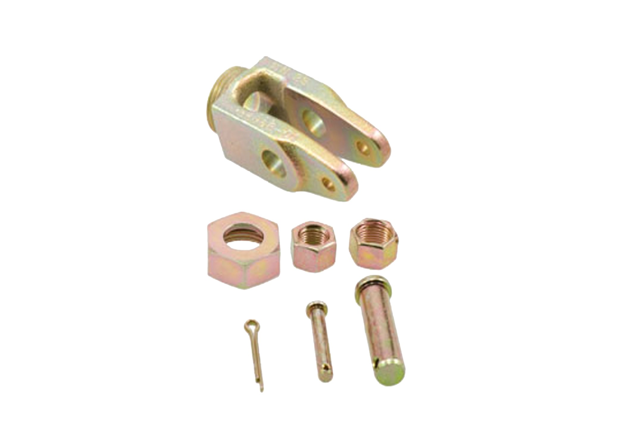 AUTOMATIC SLACK ADJUSTER CLEVIS (COLLAR LOCK STYLE (1) 1/2in