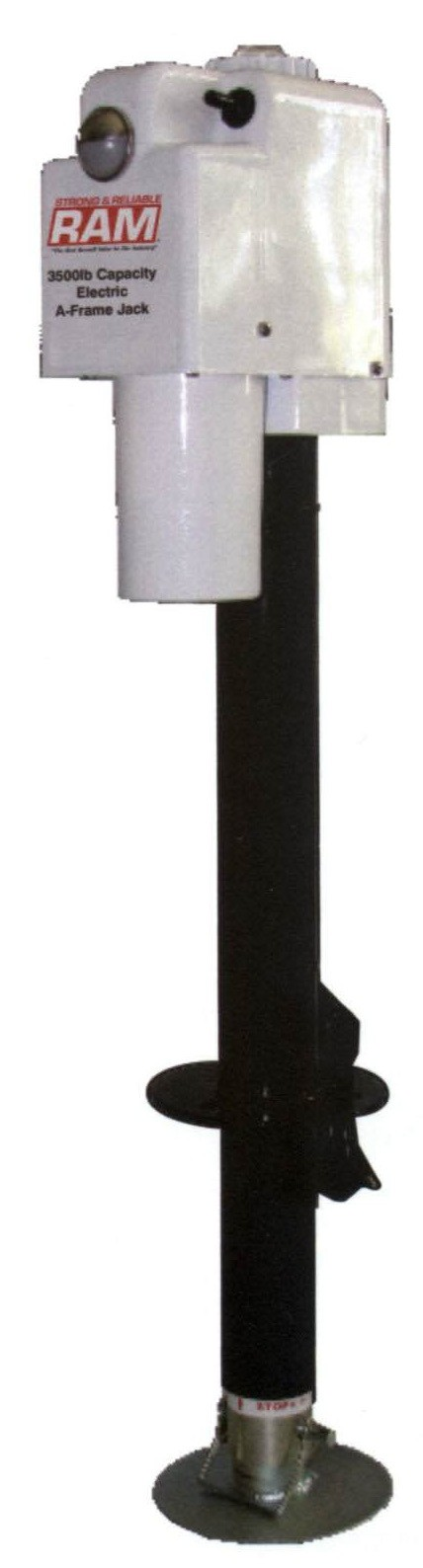 3 5k A Frame Jack 18in Lift W Drop Leg Electric