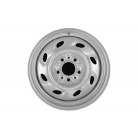 15in x 6in (5 LUG, 4 1/2in BC, 8 SLOT STEEL WHEEL)