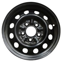 14in x 6in (5 LUG, 4 1/2in BC, STEEL WHEEL)