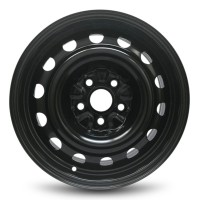 16in x 6 1/2in (5 LUG 112MM BC, PASS STEEL WHEEL)