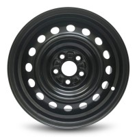 16in x 6 1/2in (5 LUG, 4 1/2in BC, STEEL WHEEL)