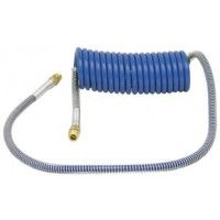 BLUE COILED AIR HOSE 15'