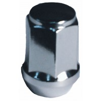 1/2in CHROME BULGE STYLE LUG NUT