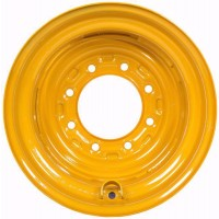 "8 1/4"" x 16.5"" JD SKID LOADER WHEEL (8 LUG 8 BC., 6"" PILOT, .41"" INSET)"