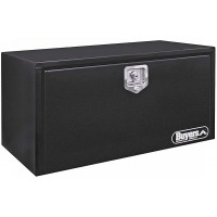 TOOL BOX 18 x18 x 30 BLACK STEEL W/ T HANDLE LATCH