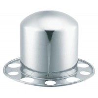 "STAINLESS STEEL REAR AXLE COVER (10 LUG, 11 1/4"" BC.)"