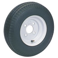 WHEEL/TIRE COMBO 4.80 x 8in LRB (4 LUG 4in BC, LOAD STAR, 590 LBS.)