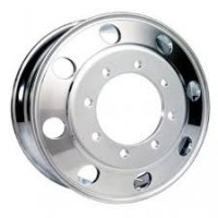 19.5 x 6.75in (8 LUG, 275MM BC. ALCOA ALUMINUM WHEEL) (POLISHED FOR DRIVE)