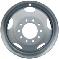 17in x 6 1/2in DUAL WHEEL (8 LUG, 6 1/2in BC. CHEVY WHEEL)(2007-2010)
