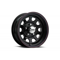 "16"" x 7"" (5 LUG 5 1/2"" BC, BLACK SPOKE WHEEL)"