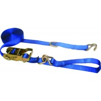1in x 20' MINI RATCHET STRAP W/ D-RINGS