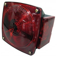TAILLIGHT LH W/ LICENSE PLATE LIGHT (STUD MOUNT S/T/T 4 FUNCTION)