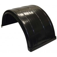POLY FENDER FITS UP TO 24.5in DUAL REAR WHEELS