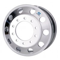 22.5in x 9in HUB PILOTED 10 HOLE (ALCOA POLISHED OUT)