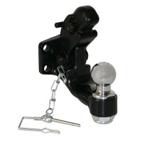 2in BALL/ PINTLE COMBINATION (8 TON W/ MOUNTING KIT)