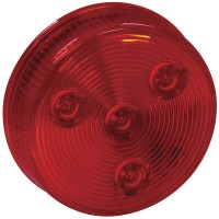 2 1/2in LED ROUND MARKER LIGHT (RED)