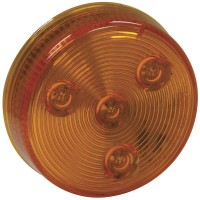 2 1/2in LED ROUND MARKER LIGHT (AMBER)