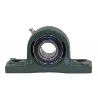 PRECISION GROUND PILLOW BLOCK-ECCENTRIC LOCKING COLLAR (1 1/8in SHAFT DIA.)
