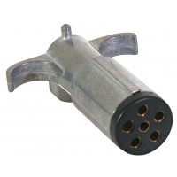 6 WAY TRAILER END PLUG