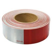CONSPICUITY TAPE 2in x 150' (6in RED 6in WHITE)