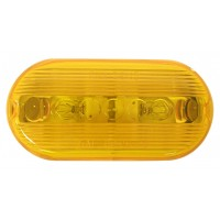 OBLONG CLEARANCE AND SIDE MARKER LIGHT (AMBER)