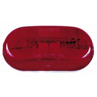OBLONG CLEARANCE AND SIDE MARKER LIGHT (RED)