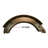 16 1/5in x 5in ROCKWELL Q PLUS RELINED BRAKE SHOE KIT (23K)(CORE CHARGE)