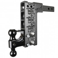 "MEGA DUTY 2"" OFFSET SHANK HITCH VERSA BALL & PINTLE"