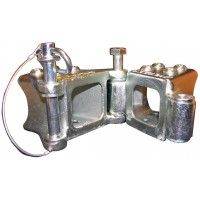 FOLD AWAY HINGE KIT (3 x 3 TUBE, 3,500 LB.)