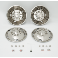 "SIMULATOR SET 19.5"" X 6"" (10 LUG, 225MM BC WHEEL)"