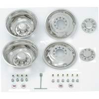 "SIMULATOR SET 19.5"" X 6"" (10 LUG, 7 1/4"" BC WHEEL)"