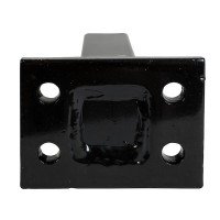 "PINTLE HOOK MOUNT 9"" SHANK 2 BOLT"
