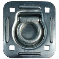 RECESSED TIE-DOWN RING ZINC PLATED 4 1/2in SQ. 2,000 LBS