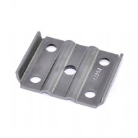 TIE PLATE, 2 3/8in ROUND AXLE, 1 3/4in SPRING