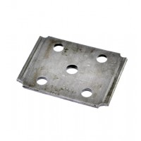 TIE PLATE, 2in SQUARE AXLE,1 3/4 OR  2in SPRING