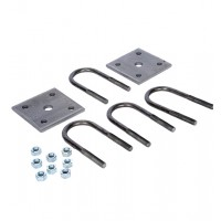 U-BOLT KIT 1 3/4in ROUND AXLE (1/2in DIA.)