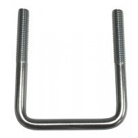 SQUARE U-BOLT  3 1/8in SQ. (7/16in-14, 4in LONG)