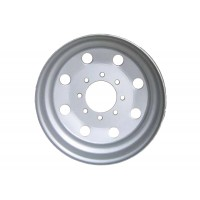 """17.5in x 6 3/4in (8 LUG, 6 1/2in BC, SINGLE WHEEL, W/ 1/2"""" OFFSET)"""