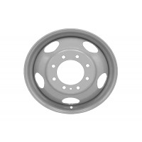 19.5in x 6in (8 LUG, 225MM BC, FORD DUAL WHEEL)