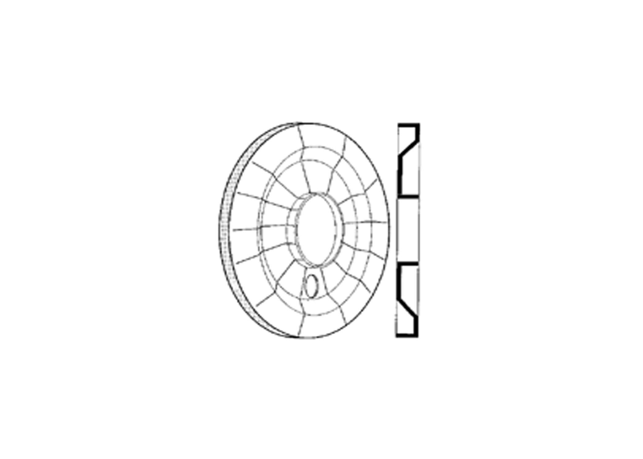 plastic dust shield - 12 1  4 u0026quot  brakes
