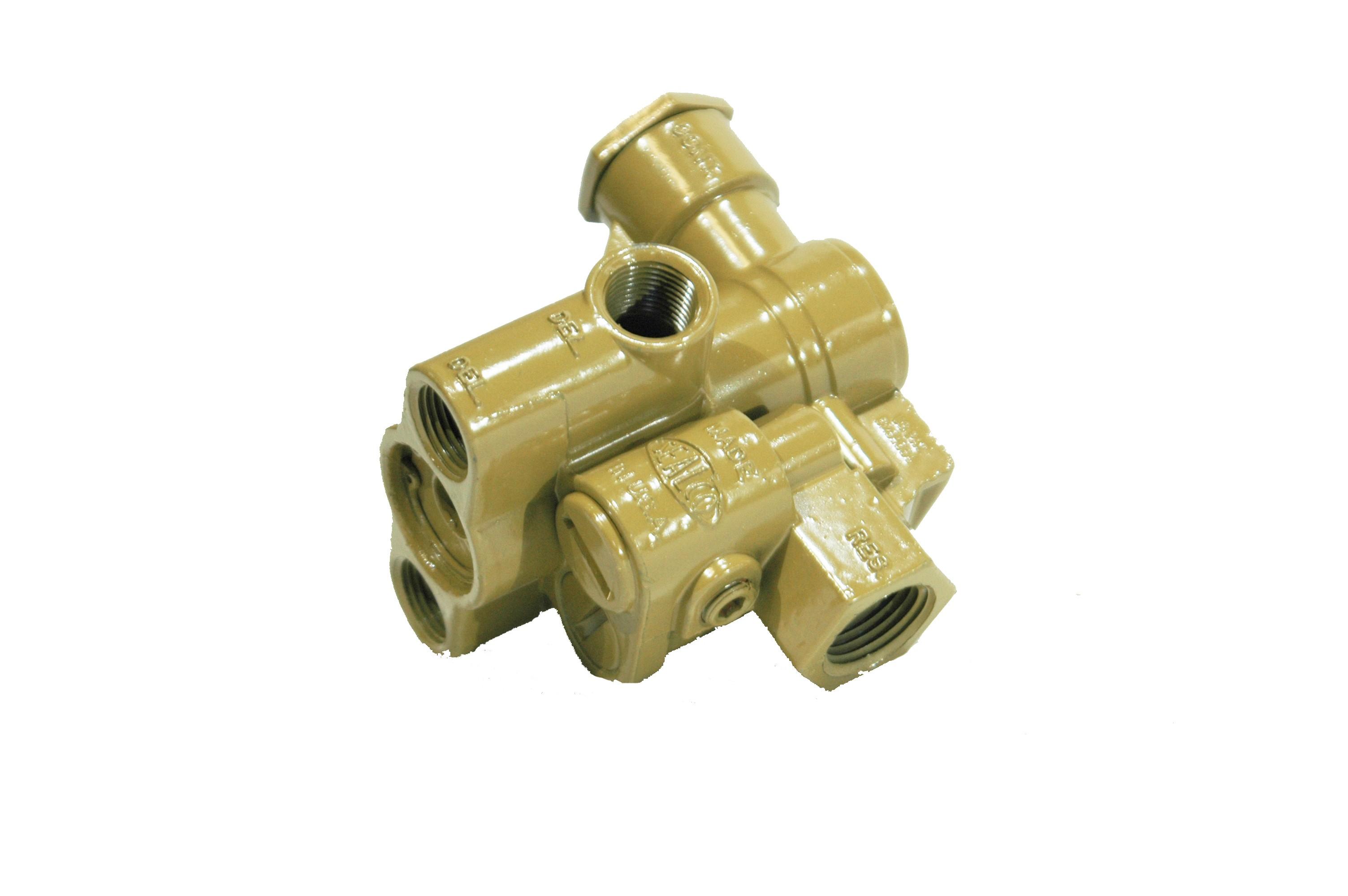 trailer spring brake valve - air valves   switchs