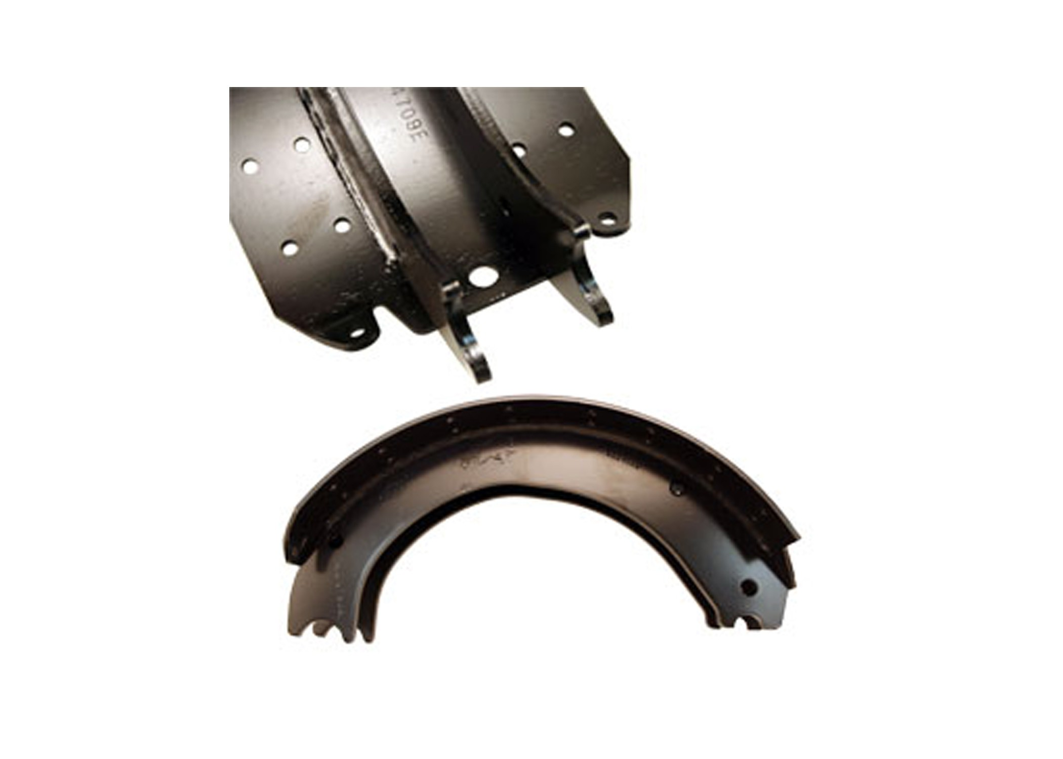 16 1  2in X 7in Eaton Extended Service Relined Brake Shoe Kit  23k   2 U0026quot  X 7 U0026quot  Wide Shoes